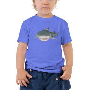 Diver Dena's Adventure Shop-Lemon Shark Toddler Tee