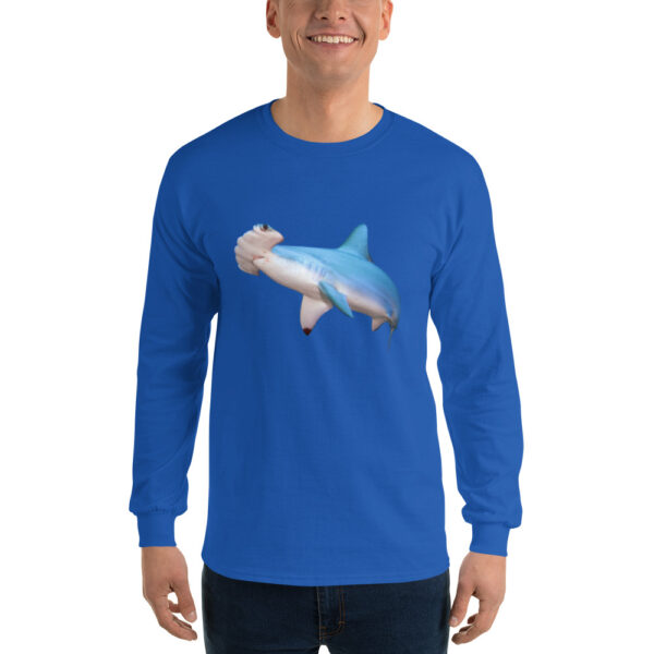 Diver Dena's Adventure Shop-Hammerhead Shark Long Sleeve Shirt