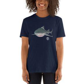 Diver Dena's Adventure Shop-Lemon Shark Unisex T-Shirt