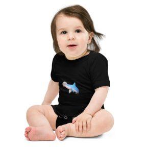 Diver Dena's Adventure Shop- Hammerhead Shark Baby Onesie