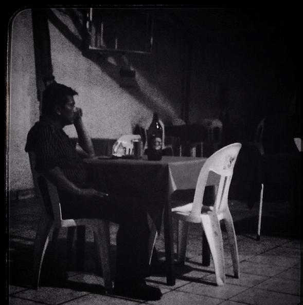 Bebedor solitario/Foto: Pontxo Hierbas.-