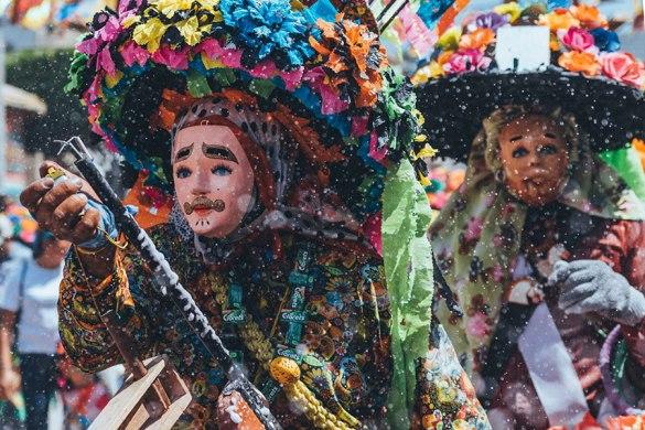 Carnaval Zoque, una tradición que une tres culturas
