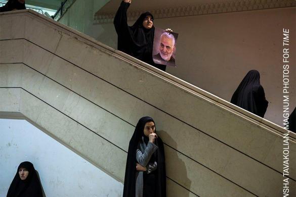 Ceremony to Mourn Qasem Soleimani in Tehran | Newsha Tavakolian | General News