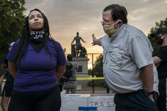 Lincoln Emancipation Memorial Debate | Evelyn Hockstein, Estados Unidos