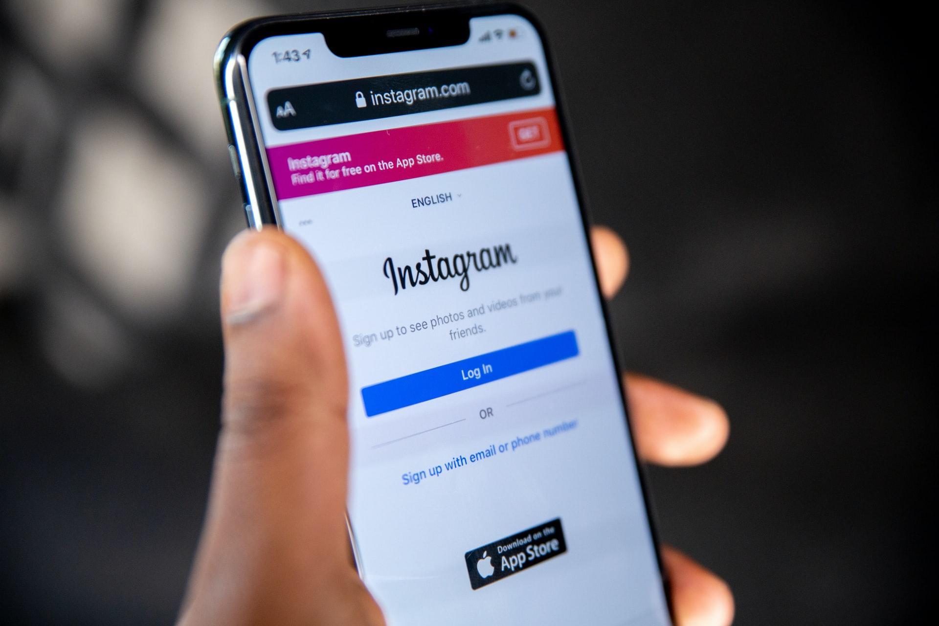 Prueba Instagram crear y subir contenido desde su versión web