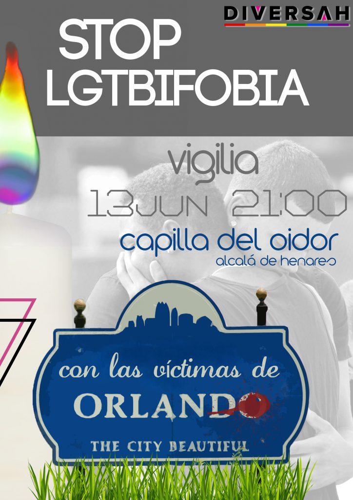 Vigilia víctimas de Orlando