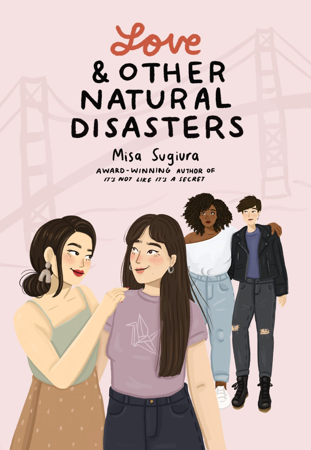 2021 book releases: Love and Other Natural Disasters by Misa Sugiura