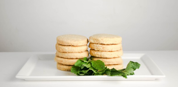 Ginger Shortbread by Diverse Dinners