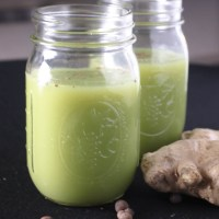 Ginger Cucumber Apple Detox Juice
