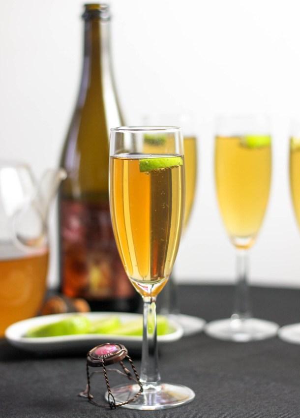 Lemongrass Green Tea Cider by Diverse Dinners