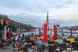 Dinner by the River in New York City - La Marina by Diverse Dinners