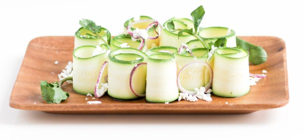 Zucchini Goat Cheese Salad by Diverse Dinners