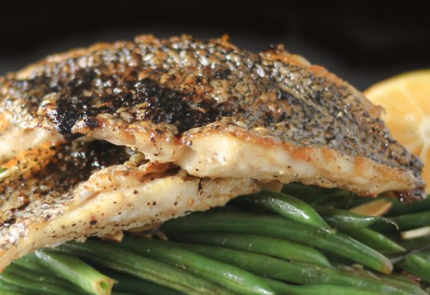 Crispy Black Sea Bass by Diverse Dinners