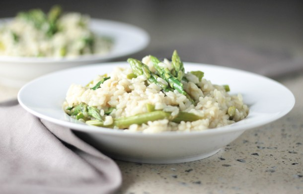 Asparagus Risotto by Diverse Dinners