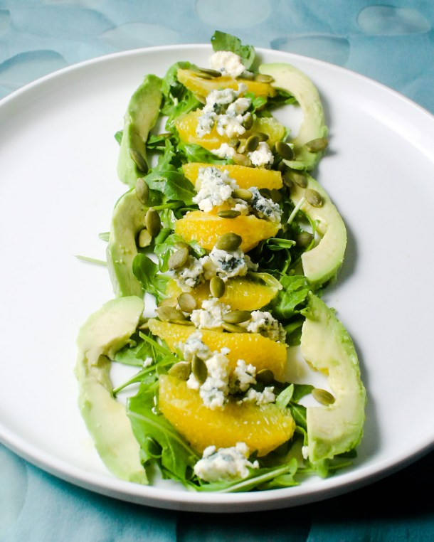 Orange Cointreau Salad by Diverse Dinners