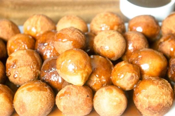 Sea Salt Caramel Doughnuts by Diverse Dinners