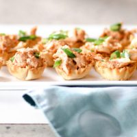 Spicy Chicken Canapés