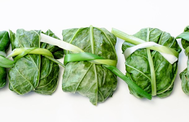 Turnip Greens Parcels Recipe by Diverse Dinners