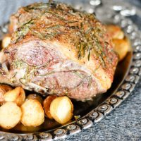 Roast Half Leg of Lamb