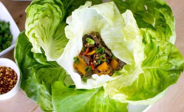 Sirloin Lettuce Wraps by Diverse Dinners