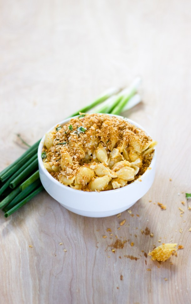 Stovetop Beer Mac and Cheese by Diverse Dinners