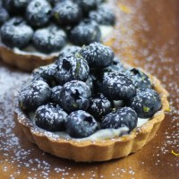 Blueberry Lemon Mascarpone Tarts