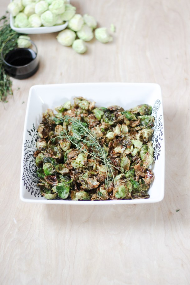 Crispy Sweet Brussels Sprouts by Diverse Dinners
