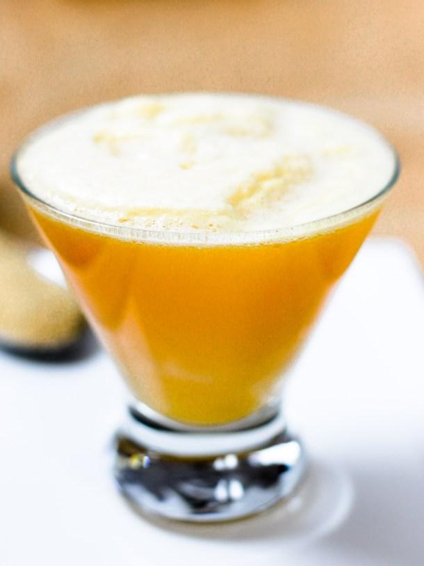 Lemon Ginger Bourbon Fizz by Diverse Dinners