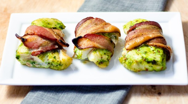 Bacon Wrapped Cod by Diverse Dinners
