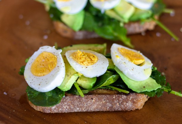 Kale Avocado Toast with Egg by Diverse Dinners