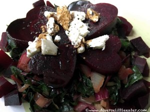 A Healthy Heart Beet Salad!