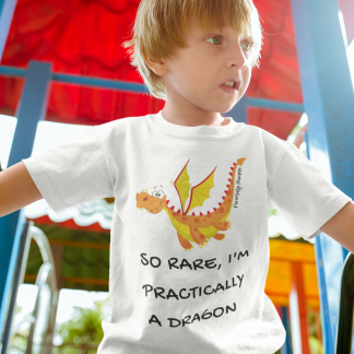 So Rare, I'm Practically A Dragon Kids T-Shirt