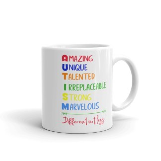 Autism – Different not less Mug