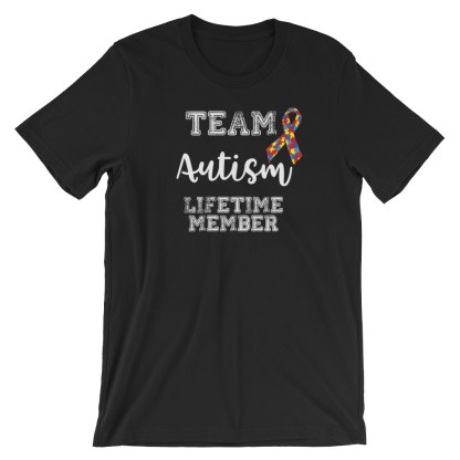 team autism lifetime member