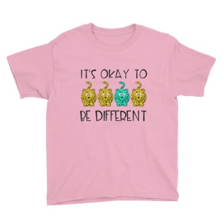 It's okay to be different kids T-Shirt