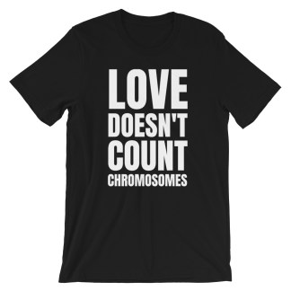 love doesn't count chromosomes black