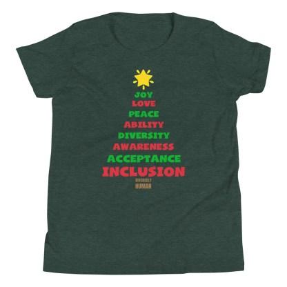 Positive Vibes Christmas Kids T-Shirt