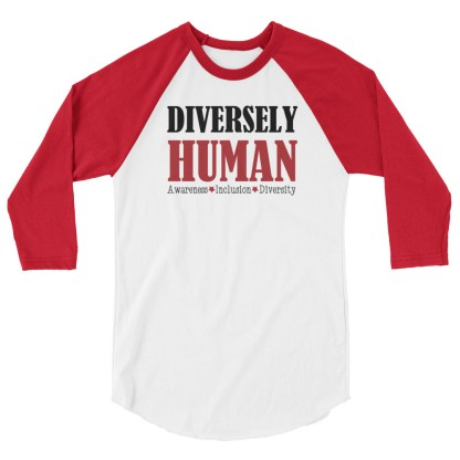 Diversely Human logo raglan