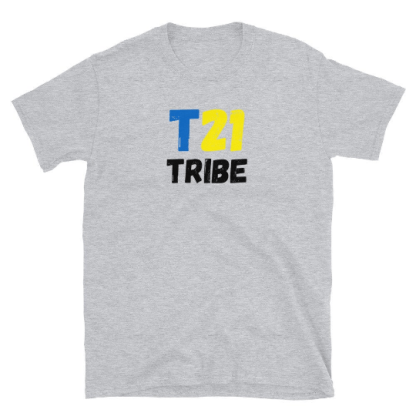 t21 tribe down syndrome shirt