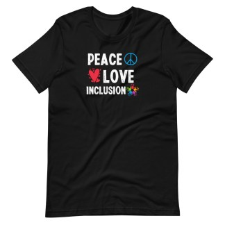 peace love inclusion shirt