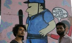 Magno da Costa Paim, 21 anos, e o paraense Hector Zapata, 22