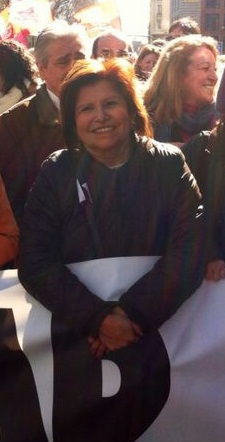 Es la Diputada de la Diversidad en la Asamblea de Madrid por el PSM - PSOE.
