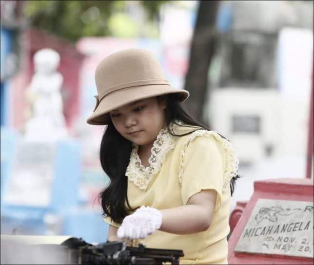 Tombstone Pillow Movie - Actress Kendra Sison De Mesa