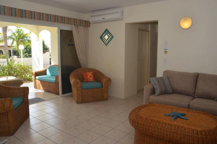 garden view suite divers paradise bonaire