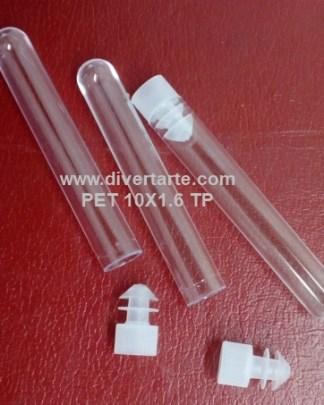 Tubos de ensaio Plástico PET acrílico