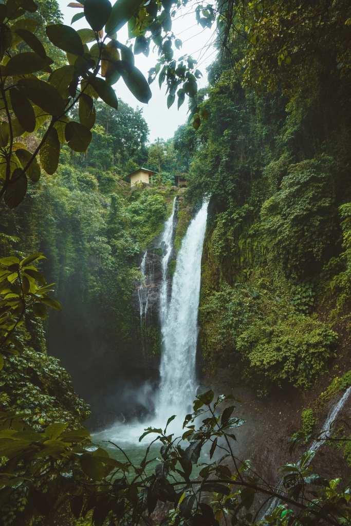 Bali hidden waterfalls