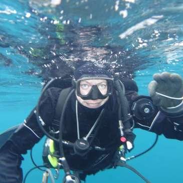 Dykker i vannflaten, kurskalender, Om meg, Dykkerkurs fremover