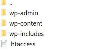 Installera WordPress 1
