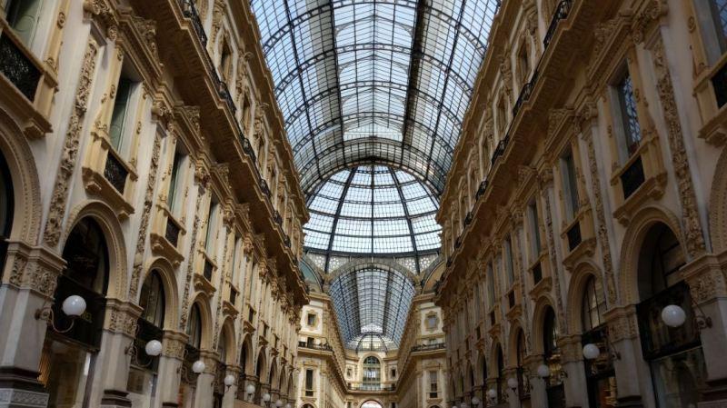 Bóveda galería Vittorio Emmanuele