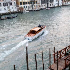 Taxi Acuático en Venecia